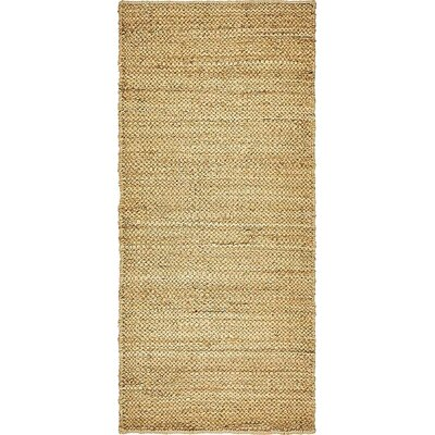 Medora Hand-Woven Natural Area Rug Rug Size: Runner 2 6 x 6