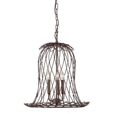 Bergenfield 3-Light Foyer Pendant