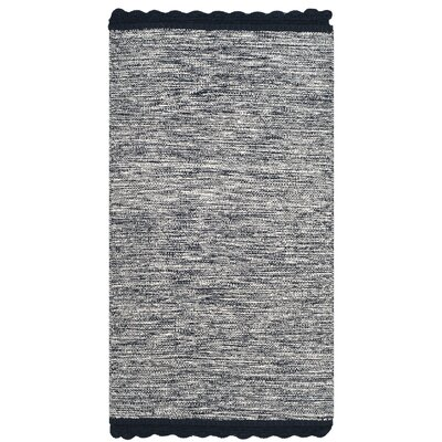 Mohnton Hand-Woven Navy/Gray Area Rug Rug Size: Rectangle 8 x 10