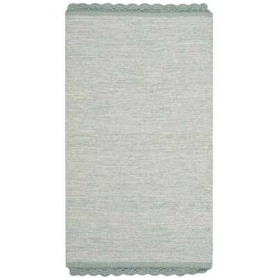Mohnton Hand-Woven Light Blue/Gray Area Rug Rug Size: 8 x 10