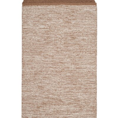Mohnton Hand-Woven Brown/Gray Area Rug Rug Size: Rectangle 8 x 10