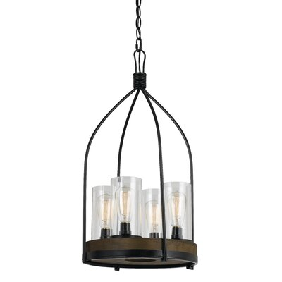 Khalic 4-Light Foyer Pendant