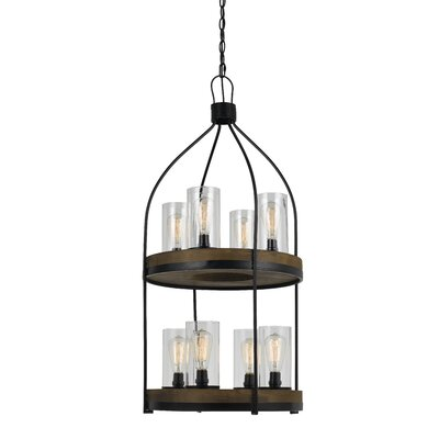 Khalic 8-Light Foyer Pendant
