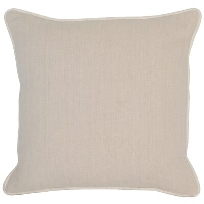 Trion Throw Pillow Color: Cream