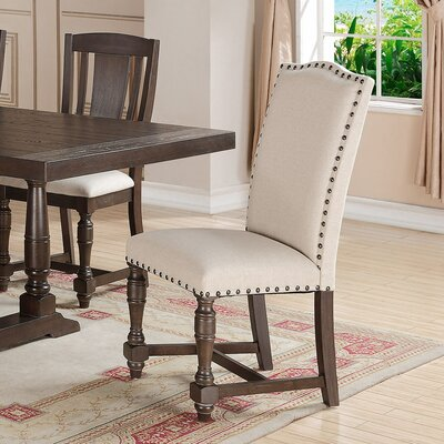 Fortunat Side Chair (Set of 2) Leg Color: Espresso