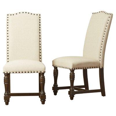 Fortunat Side Chair (Set of 2) Finish: Espresso