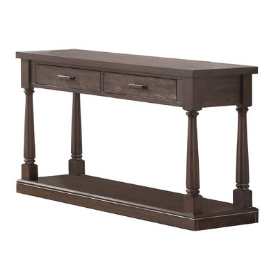 Fortunat Console Table Finish: Espresso