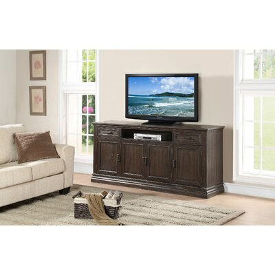 Fortunat 72 TV Stand Color: Espresso