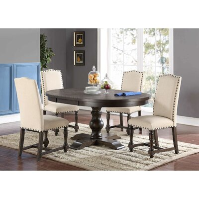 Fortunat Extendable Dining Table Finish: Espresso