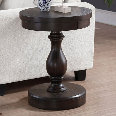 Fortunat End Table Finish: Espresso