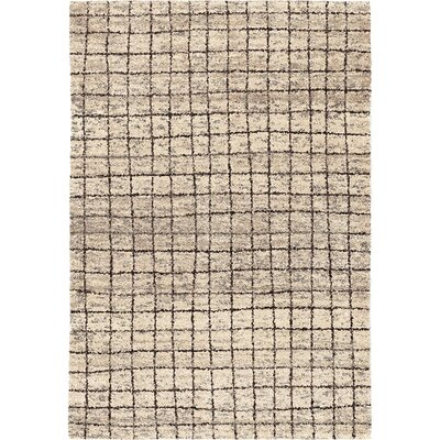 Fouras Square Off Beige Area Rug