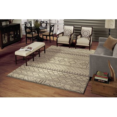 Fouras Gray/Black Area Rug