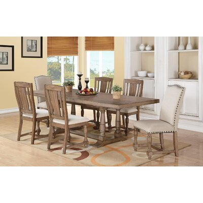 Laurel Foundry Modern Farmhouse Fortunat 7 Piece Dining Set