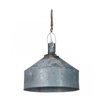Francois 1-Light Inverted Pendant Size: 17 H x 20 W x 20 D