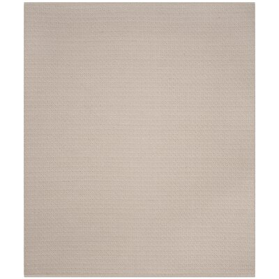 Oxbow Hand-Woven Ivory/Beige Area Rug Rug Size: Rectangle 26 x 4