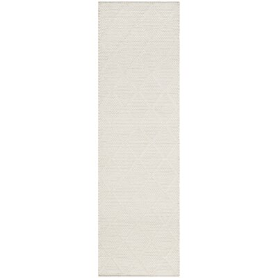 Billie Hand-Tufted Ivory Area Rug Rug Size: Runner 23 x 8