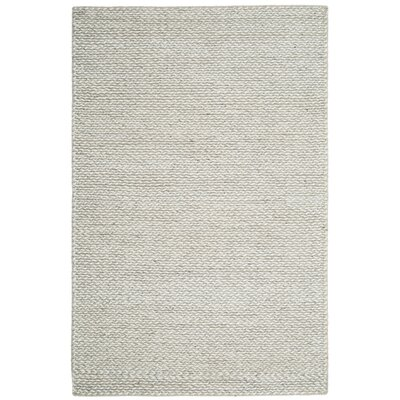 Newry Hand-Tufted Ivory/Silver Area Rug Rug Size: Rectangle 5 x 8