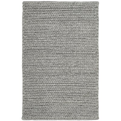 Fraser Hand-Tufted Steel Area Rug Rug Size: Square 6
