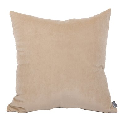 Lola Throw Pillow Color: Latte