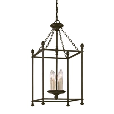 Paulsboro 4-Light Foyer Pendant