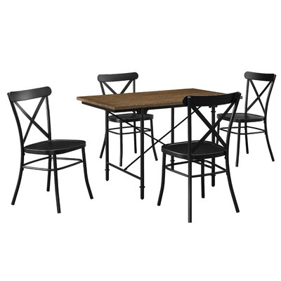 Abbey 5 Piece Counter Height Dining Set