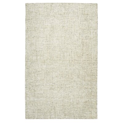 Marsh Hand-Tufted Wool Beige Area Rug Rug Size: 66 x 96