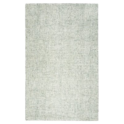Marsh Hand-Tufted Wool Green Area Rug Rug Size: Round 8
