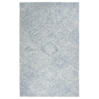 Marsh Hand-Tufted Blue Area Rug Rug Size: 8 x 10