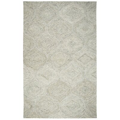 Marsh Hand-Tufted Beige Area Rug Rug Size: 5 x 8