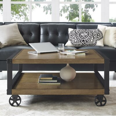 Adams Coffee Table Finish: Rustic Gray