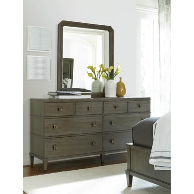 Payton 8 Drawer Double Dresser with Mirror