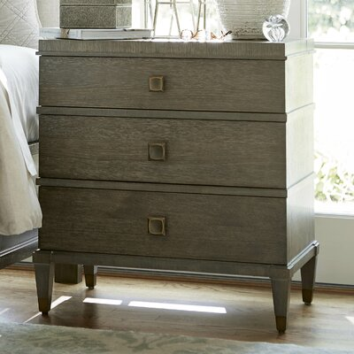 Payton 3 Drawer Nightstand