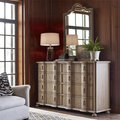 Wellison 8 Drawer Dresser with Mirror