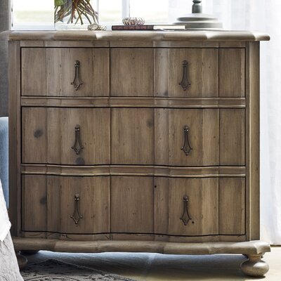 Wellison 3 Drawer Nightstand
