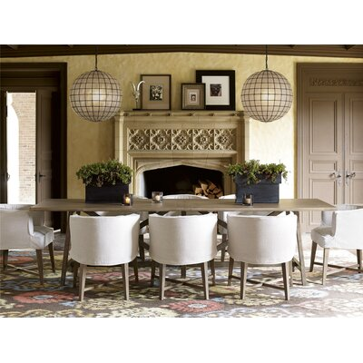 Wellison Contemporary 9 Piece Dining Set