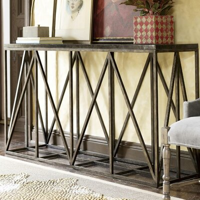 Wellison Metal Frame Console Table