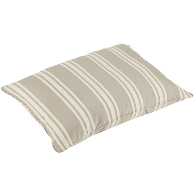 Macon Sunbrella Indoor/Outdoor Piped Floor Pillow