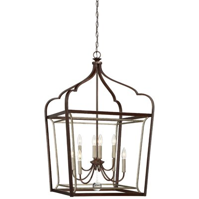 Evangeline 8-Light Foyer Pendant