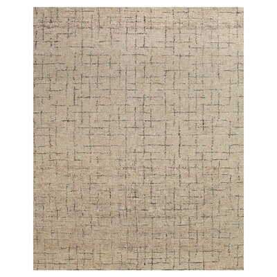 McKinley Hand-Tufted Mushroom Area Rug Rug Size: Rectangle 8 x 11