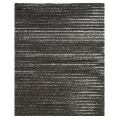 Amherst Hand-Tufted Graphite Area Rug Size: Rectangle 96 x 136