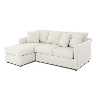 Cailinn Sectional Upholstery: Amigo Dove, Orientation: Right Hand Facing