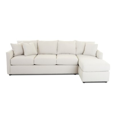 Cailinn Upholstered Sectional Upholstery: Conversation Capri, Orientation: Right Facing