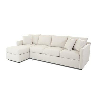 Philippine Sectional Upholstery: Oakley Ivory, Orientation: Right Hand Facing