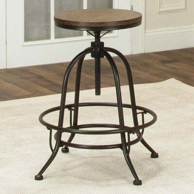 Abbeville Adjustable Height Swivel Bar Stool