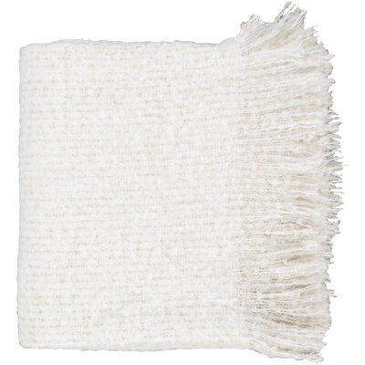 Richardton Throw Color: White/Beige