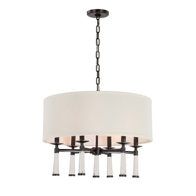 Indimar�6-Light�Drum Chandelier Finish: Oil Rubbed Bronze