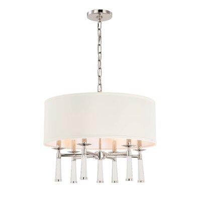 Indimar�6-Light�Drum Chandelier Finish: Polished Nickel
