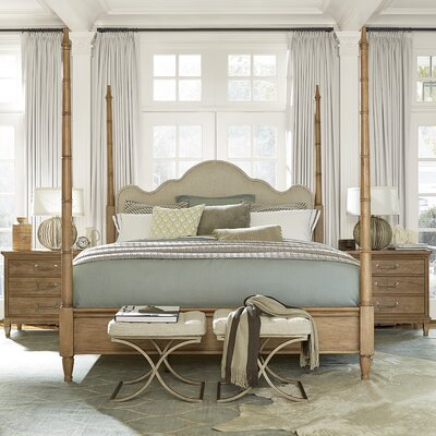 Riverdale Muse Four Poster Configurable Bedroom Set