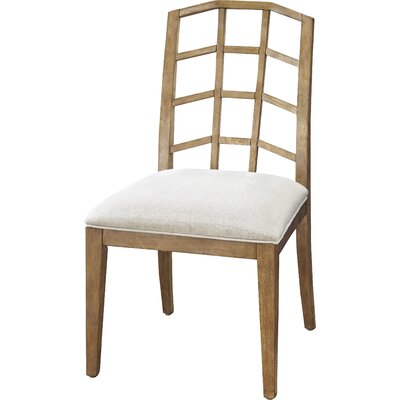 Edgerton Side Chair (Set of 2) Side Chair Finish: Bisque