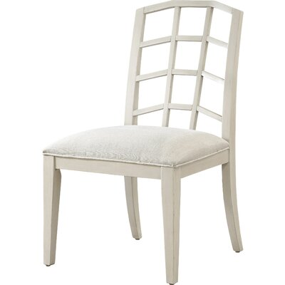 Riverdale Side Chair (Set of 2) Side Chair Finish: Canvas